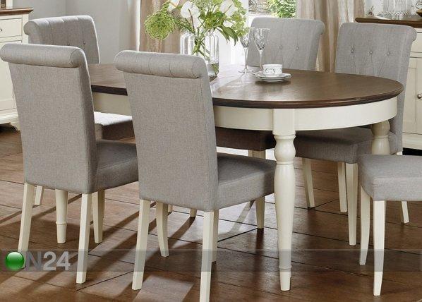 Home4you Jatkettava Ruokapöytä Hampstead 96x181-231 Cm