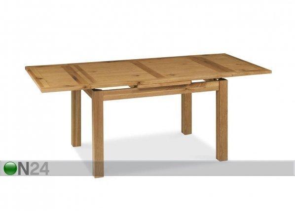 Home4you Jatkettava Ruokapöytä Provence 90x128/168/208 Cm
