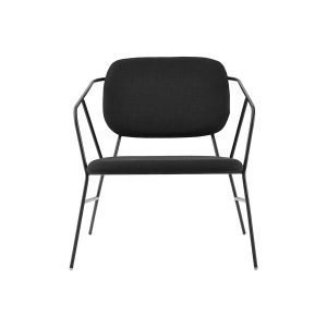House Doctor Klever Lounge Tuoli Musta 70x70 Cm