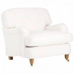 Howard-Deluxe Nojatuoli Valkoinen