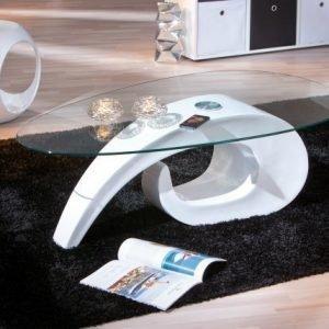 Interlink Sohvapöytä Lasitasoilla Coisa