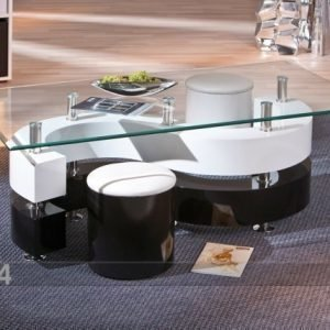 Interlink Sohvapöytä Lasitasoilla Serena