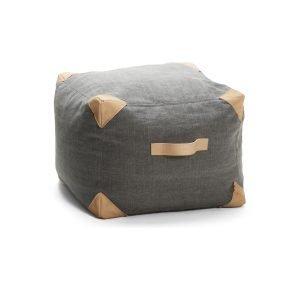 Ire Luggage Box Istuinrahi Tummanharmaa