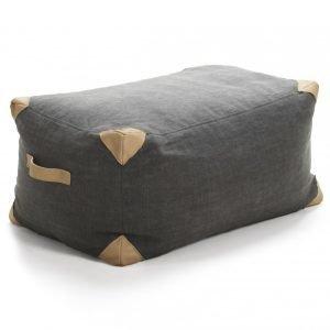 Ire Luggage Trunk Istuinrahi Tummanharmaa