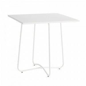 Jotex Antibes Pöytä Valkoinen 74x74 Cm