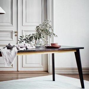 Jotex Dakota Ruokapöytä Musta 85x220 Cm