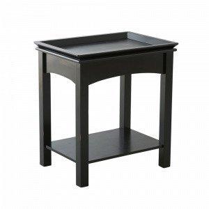 Jotex Högfors Sohvapöytä Musta 38x52 Cm