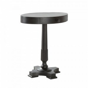 Jotex Juhu Pikkupöytä Musta 55x40 Cm