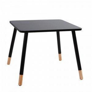 Jotex Kinna Sohvapöytä Musta 60x60 Cm