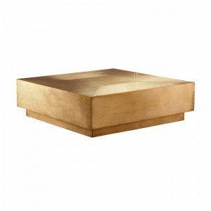 Jotex Meraux Sohvapöytä Kulta 100x100 Cm