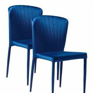 Jotex Toulouse Tuolit Sininen 2-Pakkaus