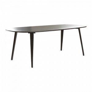 Jotex Una Ruokapöytä Musta 90x220 Cm