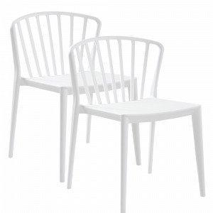 Jotex Väby Tuolit Valkoinen 2-Pakkaus