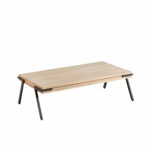 Julia Disset Sohvapöytä Metalli / Akasiapuu Luonnonvärinen 125x70 Cm