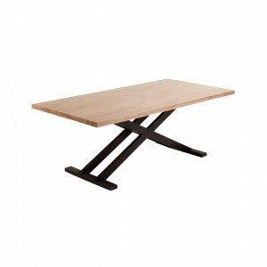 Julia Vita Pöytä Akaasiapuuta Luonnonvärinen 100x200 Cm