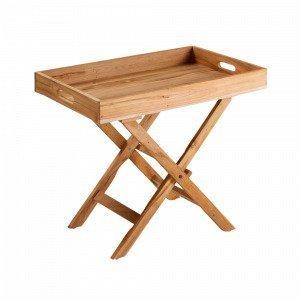 Julia Yartik Pöytä Tiikkiä Luonnonvärinen
