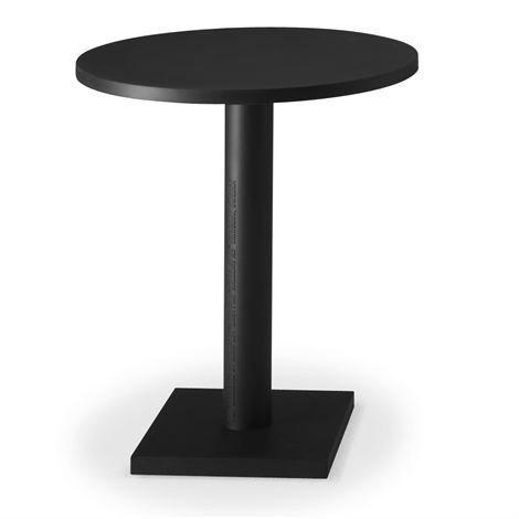 Källemo Non Pöytä Pyöreä Musta