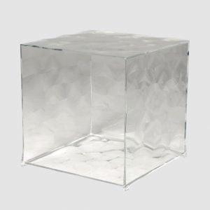 Kartell Optic Kuutio Kristalli