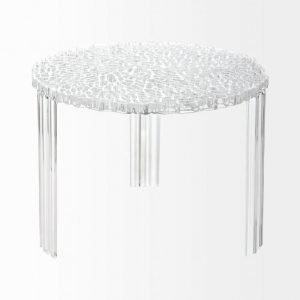 Kartell T-Table Pikkupöytä Kork. 36 Cm