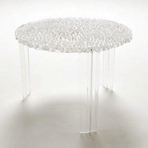 Kartell T Table Sivupöytä Kristalli