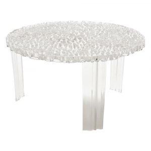 Kartell T Table Sivupöytä Kristalli Pieni