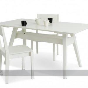 Kiteen Ruokapöytä Notte Koivu 160x85 Cm