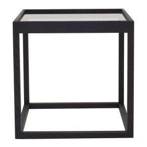 Klassik Studio Cube Pöytä Musta Savulasi