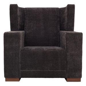 Klassik Studio Square Chair Nojatuoli Tummanharmaa