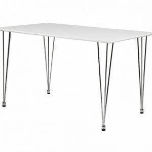 Kronberg Pöytä 120 Valkoinen Matta