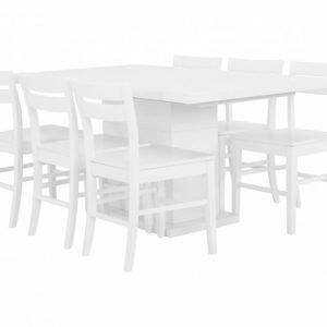 Kulmbach Pöytä 160 + 6 Växjö Tuolia Useita värejä
