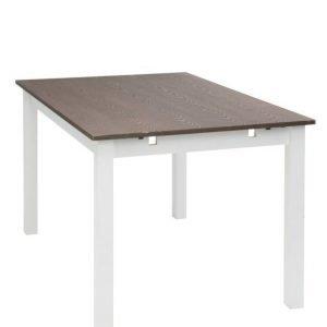 Kylvik Ruokapöytä 90x140 Cm Valkoinen