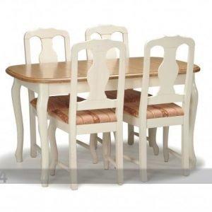 La Jatkettava Ruokapöytä Parooni 100x160+42 Cm