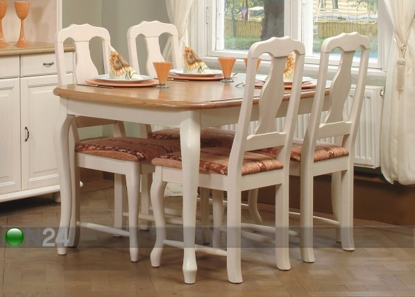 La Jatkettava Ruokapöytä Parooni 90x170+42 Cm