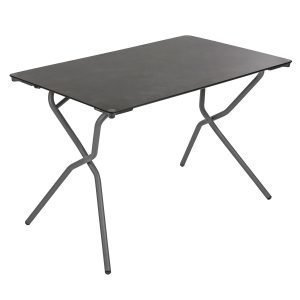 Lafuma Anytime Pöytä Volcanic / Black 110x68 Cm