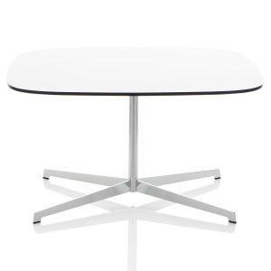 Lammhults Cooper Pöytä Valkoinen Laminaatti 80x70 Cm