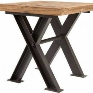 Lamppupöytä Ella rustiikkinen jalava