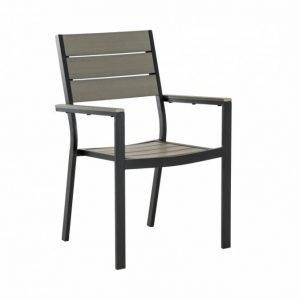 Lapaz Pinottava tuoli Musta/Harmaa
