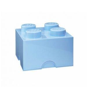 Lego Säilytyslaatikko 4 Vaaleansininen