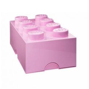 Lego Säilytyslaatikko 8 Roosa