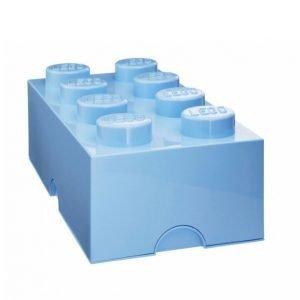 Lego Säilytyslaatikko 8 Vaaleansininen