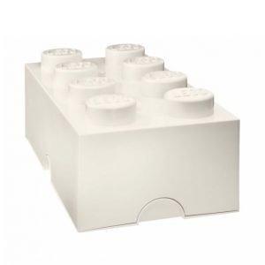 Lego Säilytyslaatikko Valkoinen