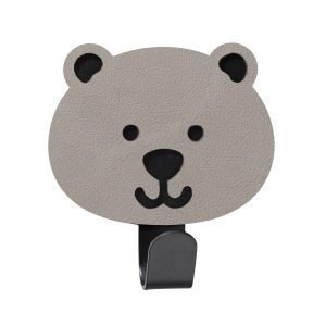 Lind Dna Bear Ripustin Nupo Light Grey / Steel Black