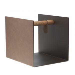 Lind Dna Container Säilytyskori Bronze / Brown