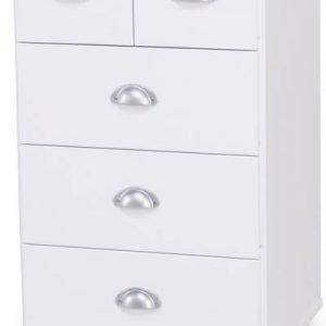 Lipasto Sonja 49x41x82 cm valkoinen