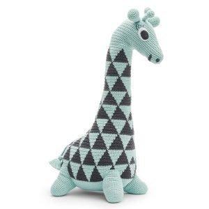 Littlephant Giraffe Crochet Säkkituoli Aqua