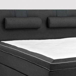 Lux Sängynpääty 160 Farkku Musta