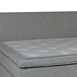 Lux Sängynpääty 180 Vaaleanharmaa