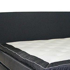 Lux Sängynpääty 210 Farkku Musta