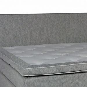 Lux Sängynpääty 210 Vaaleanharmaa