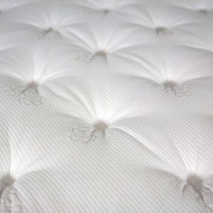 Lux Sijauspatja Lateksia 180 Valkoinen